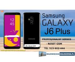 Naprawy Samsung J6+ Samsung J6 wymiana szybki dotyku